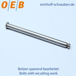 Bolt with recutting work - OEB-Fasteners - Otto Eichhoff GmbH & Co. KG