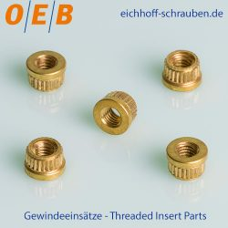 Threaded Insert Parts - OEB-Fasteners - Otto Eichhoff GmbH & Co. KG