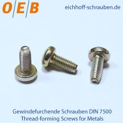 Thread-forming Screws for Metals - OEB-Fasteners - Otto Eichhoff GmbH & Co. KG