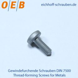 Thread-forming Screws Direct Screwing into Plastic - OEB-Fasteners - Otto Eichhoff GmbH & Co. KG
