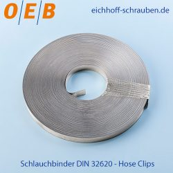 DIN 32620 Hose Clips - OEB-Fasteners - Otto Eichhoff GmbH & Co. KG
