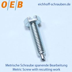Metric Screw with recutting work - OEB-Fasteners - Otto Eichhoff GmbH & Co. KG